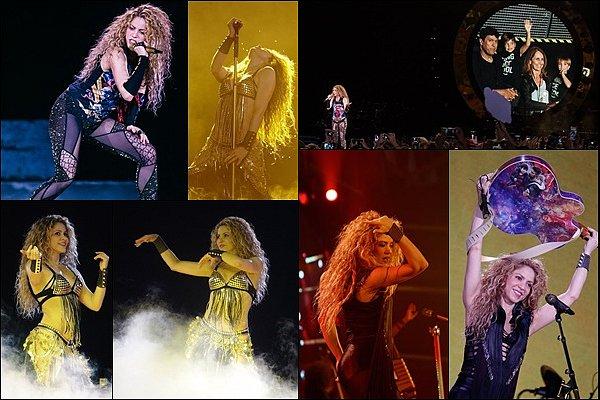 7 Juin 2018 : Shakira a donné un concert à Anvers en Belgique dans le cadre de sa tournée européenne Shakira était encore une fois sublime sur scène ! La belle a interprété Je l'aime à mourir, toujours aussi incroyable *_*