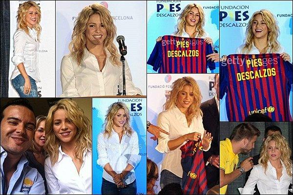 1er août 2011 : Shakira a donné une conférence de presse à Coral Gables, aux Etats-Unis Shakira était ravissante, j'aime beaucoup son jean et sa chemise, simple et élégante, c'est un TOP :)