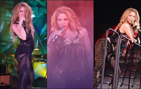 7 Juillet 2018 : Shakira a reçu deux nouvelles certifications, elle a posé avec juste avant le concert de Barcelone La belle était rayonnante et il y a de quoi ! Ce second concert à Barcelone signait la fin de la tournée Européenne de l'Eldorado WT