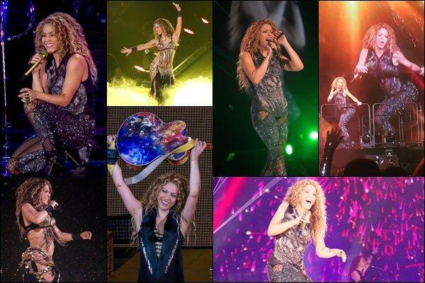 """17 août 2018 : Shakira a donné un concert un autre concert dans le cadre de l""""El Dorado WT à Miami  Shakira débordait d'énergie ! C'est génial de la voir autant en forme et épanouie sur scène !! Quel concert *_*"""