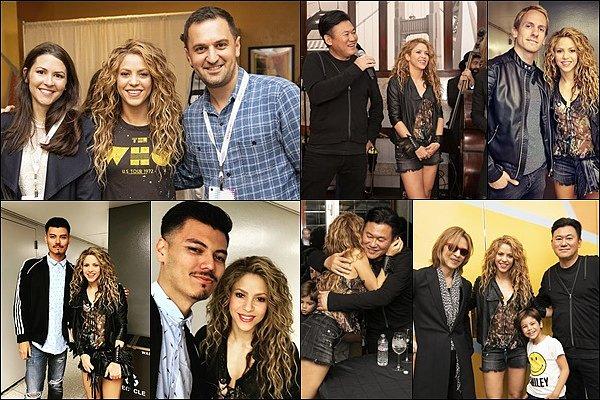 6 septembre 2018 : Shakira a donné le dernier concert nord américain de l'El Dorado WT à San Jose Shakira était ravissante encore une fois, j'aime beaucoup sa nouvelle robe léopard, elle est vraiment sublime !!