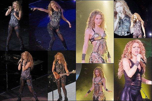 11 août 2018 : Shakira a une nouvelle fois enflammé la scène de Washington DC Shak était superbe, toujours au TOP sur ces photos ! La belle a mis le feu dans la capitale des USA !