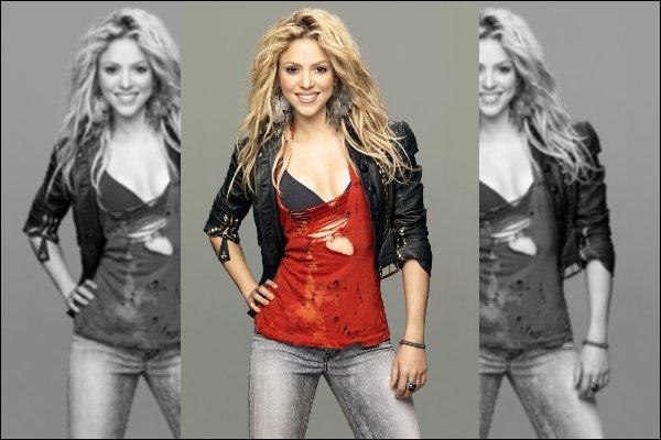 2011 ▬ Re-découvrez un photoshoot de Shakira réalisé par Jaume de Laiguana