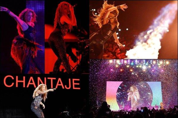 1er novembre 2018 : Shakira a donné l'avant-dernier concert de l'El Dorado World Tour à Guayaquil en Equateur La belle blonde était encore une fois au TOP sur scène ! Shakira était ravie de ce public très réactif, S. en était impressionnée :)