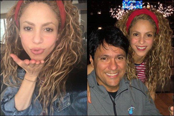 15 Octobre 2018 : Shakira a posté de nouvelles photos pour souhaiter un bon anniversaire à son frère Shakira est superbe et ils sont adorables tous les deux. J'aime beaucoup son bandeau relevant ses magnifiques cheveux *_*