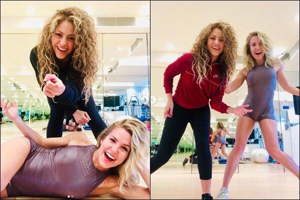 21 Janvier 2019 : Shakira a posté de nouvelles photos lors d'un entrainement avec sa coach Anna Kaiser Shakira a l'air très en forme et ravi de se remettre au sport, cela fait plaisir à voir. Elle est superbe avec les cheveux bouclés :)
