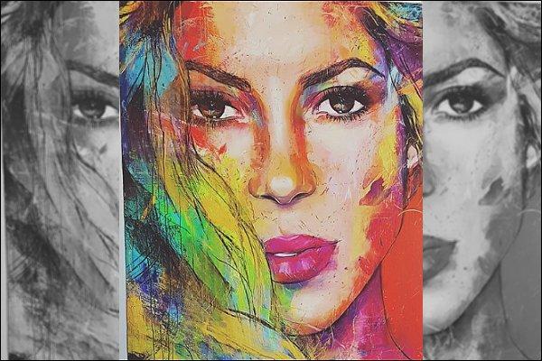 PRINTEMPS 2019 ▬ Shakira a posté plusieurs photos sur les réseaux sociaux, à la plage en compagnie de Gérard Piqué, à la campagne, la belle a également reposté un tableau d'un artiste, un vrai chef d'oeuvre♥