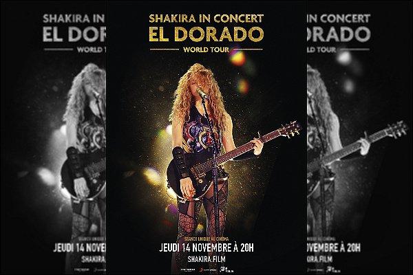Le film de l'EL DORADO WORLD TOUR sortira le 13 novembre prochain ! Si vous n'avez pas eu l'occasion d'assister au concert, le film sera diffusé dans plusieurs cinéma dans plus de 60 pays :)