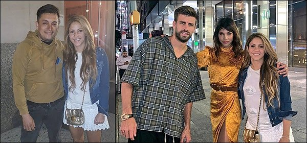 5 septembre 2019 : Shakira et Gerard ont pris quelques photos avec des fans à New York Ils sont très beaux tous les deux, j'aime beaucoup la tenue de Shakira, elle est toute belle ! un TOP :)