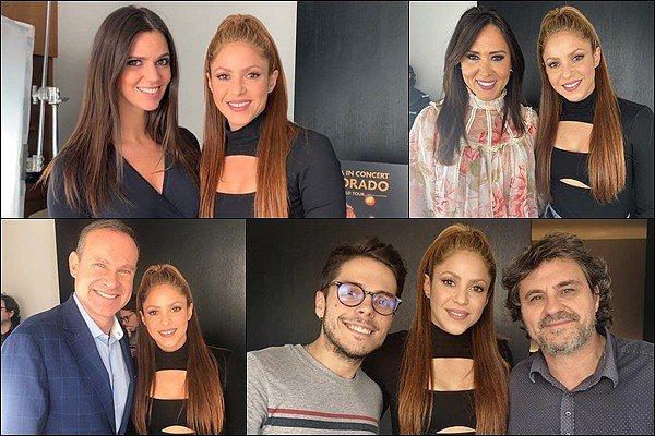 5 Novembre 2019 : Shakira a donné une interview lors de la promotion de son film à Barcelone Elle est tout simplement SUBLIME ! J'adore sa coiffure et son haut est très sympa, elle est vraiment adorable *___*