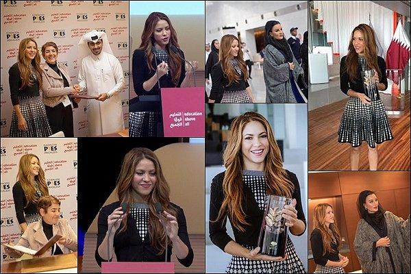 20 Novembre 2019 : Shakira a posté une photo sur les réseaux sociaux lors de son arrivée au Qatar Shakira s'y est rendu pour le World Innovation Summit for Education, la belle y fera un discours sur l'éducation.