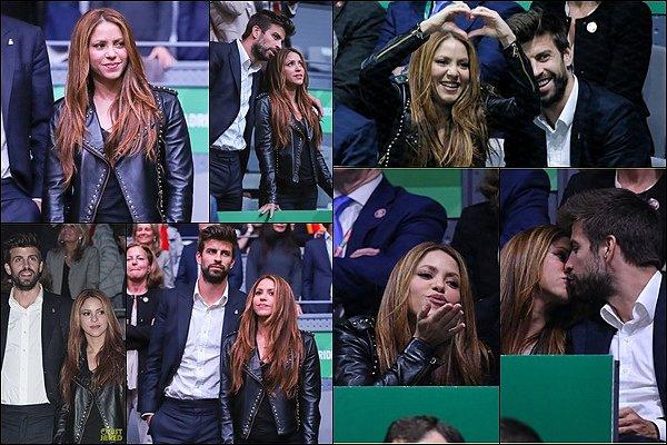 24 Novembre 2019 : Shakira a chanté She Wolf, Tutu et Dare lors de la finale de la Davis Cup à Madrid Shakira était tout simplement CANON ! J'adore sa robe à franges. Elle était au TOP avec Camilo et Pedro Capo sur scène :)