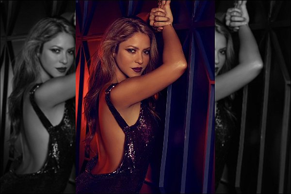 Nouvelle photo de Shakira pour son nouveau parfum Dance By Shakira Midnight Muse ♥