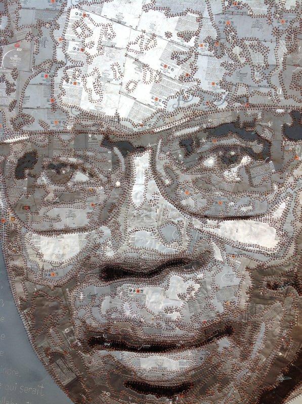 Portrait de leopold Sedar Senghor