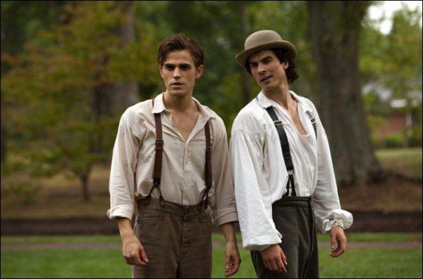 Stefan et Damon en 1864