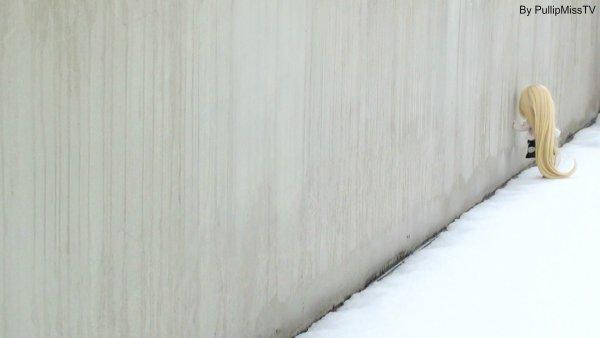 Laetitia dans la neige :3 ( Partie 2 )