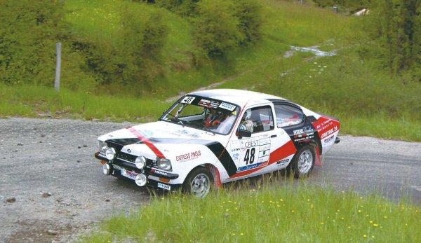 Vainqueur du rallye Dauphiné VHRS avec Quentin Taus