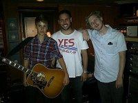 ♥ Justin en studio