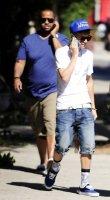 ♥ Candids: Justin se promène a L.A.