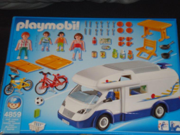 Playmobil 4859 grand camping car ventes diverses occasion - Camping car playmobil pas cher ...