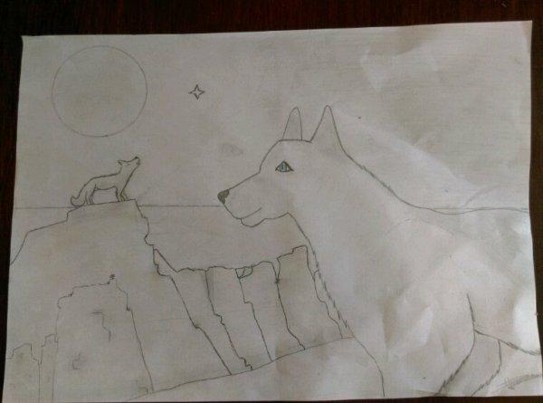 Mes dessin fait main en 3ème