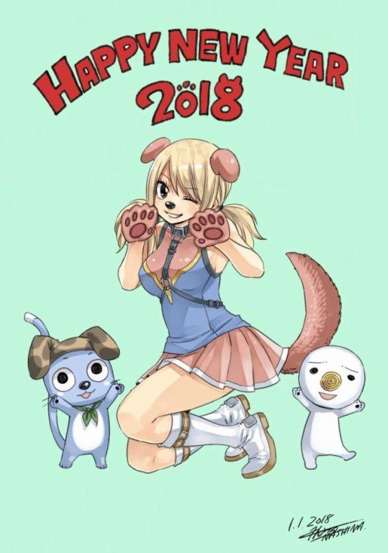 nouvelle année fairy tail