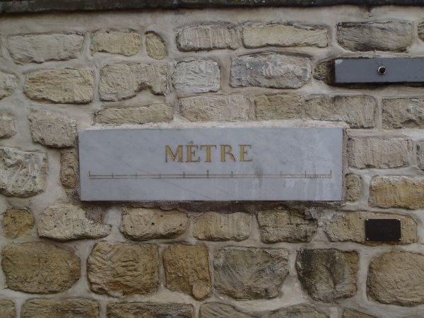 histoire du metre