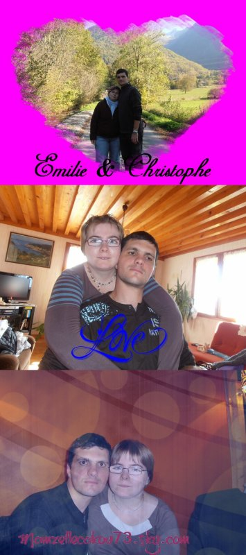 Christophe le beau frère le plus sympas de la terre entière et émilie la meilleure de toute les soeurs!!!