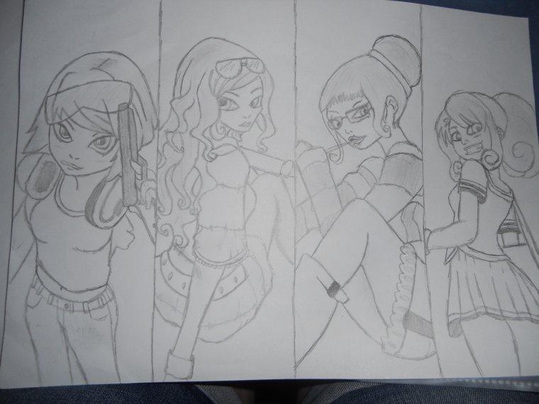 new dessins