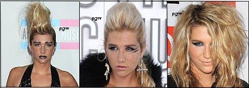 Quelle est la coiffure la plus bizarre de Kesha ?