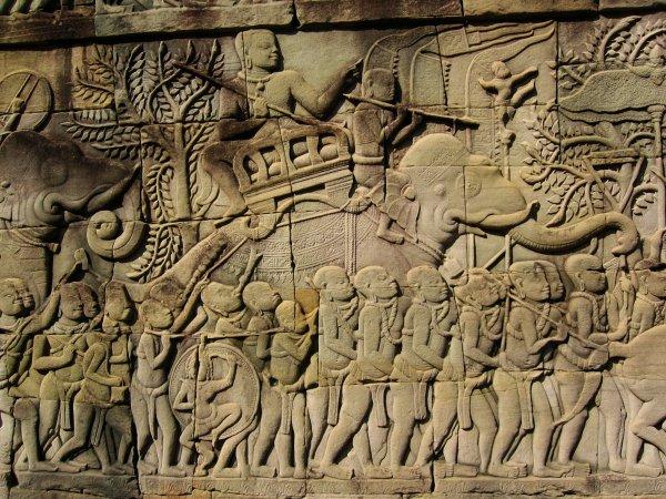 photos prises à Siem Reap (temple d'Ankgor Wat), Cambodge