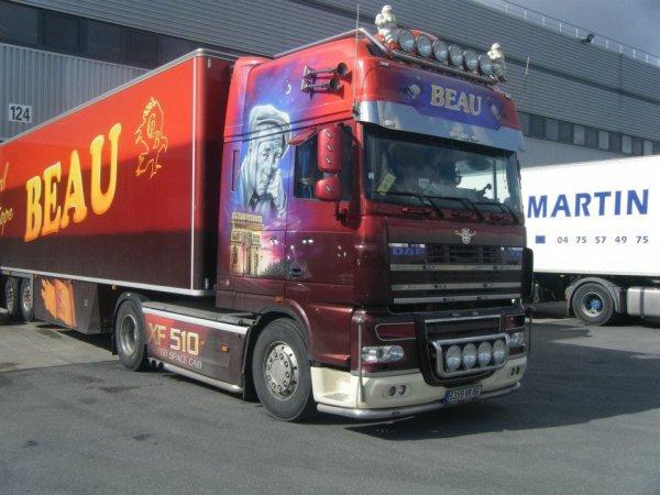 Le Daf 510 transport BEAU