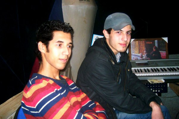 Au Studio d'enregistrement -- Sama Master ( تسجيلات القاهرة )