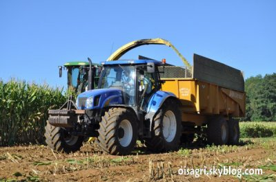 new holland ensilage