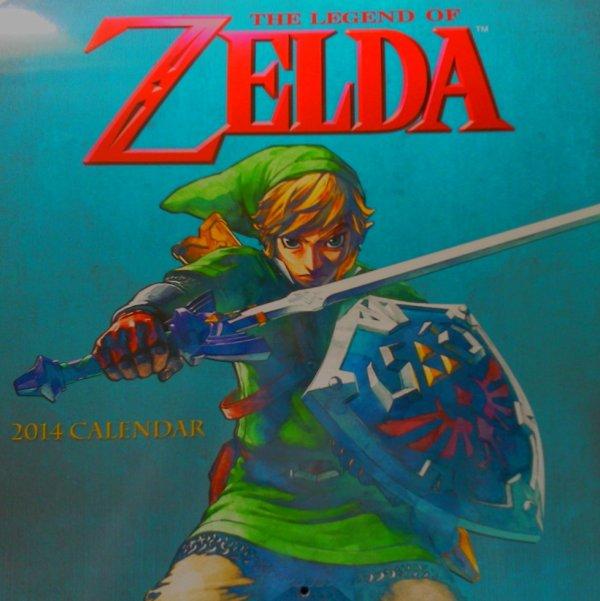 Calendrier Zelda 2014 (couverture)