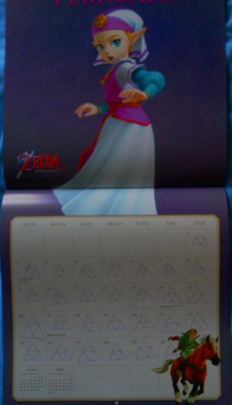 Calendrier Zelda 2014 (Février)