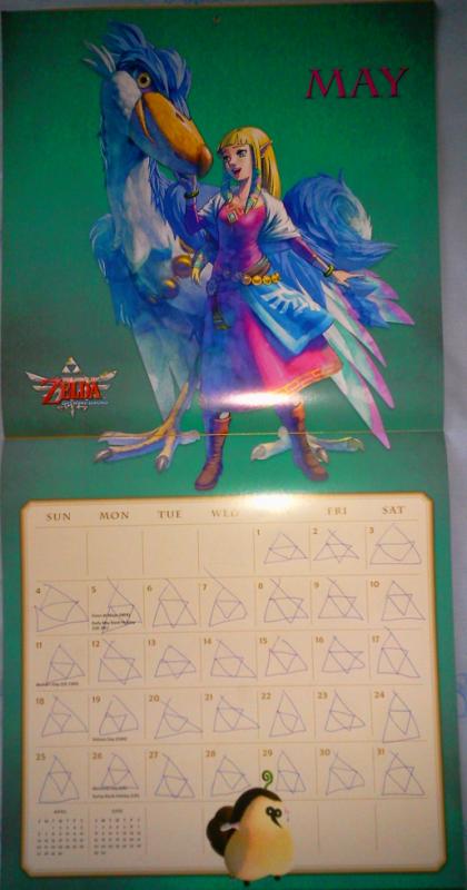 Calendrier Zelda 2014 (Mai)