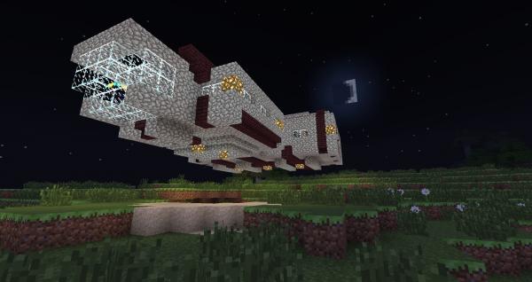 Comparaison Minecraft classique et Minecraft avec texture pack et shader