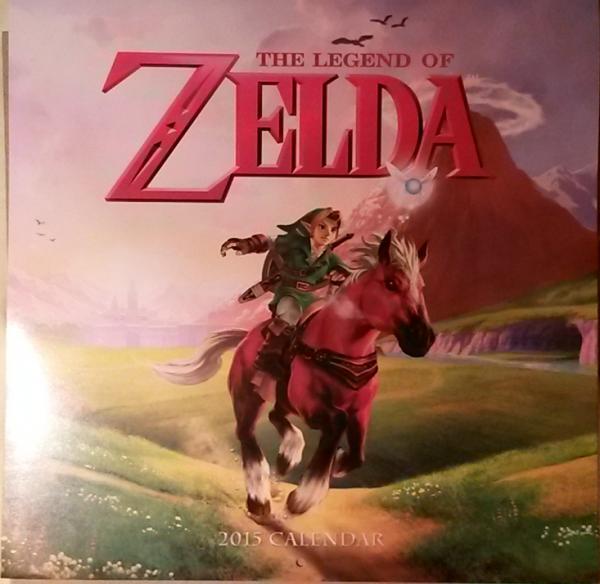 Calendrier Zelda 2015 (couverture)