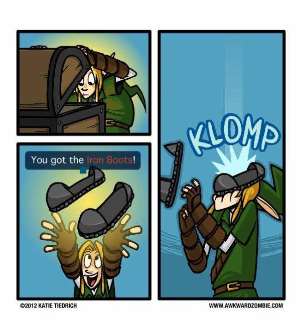 Quelque images amusante sur Link