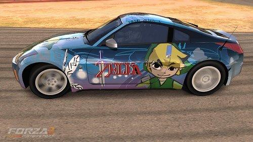Kyaaaa *p* Voiture Zelda !!!