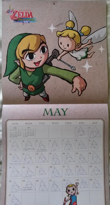 Calendrier Zelda 2015 (Mai)