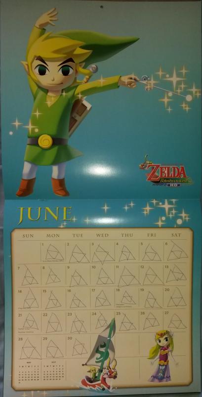 Calendrier Zelda 2015 (Juin)