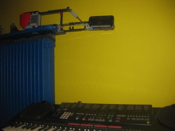 Un port portable en Lego pour jouer au piano