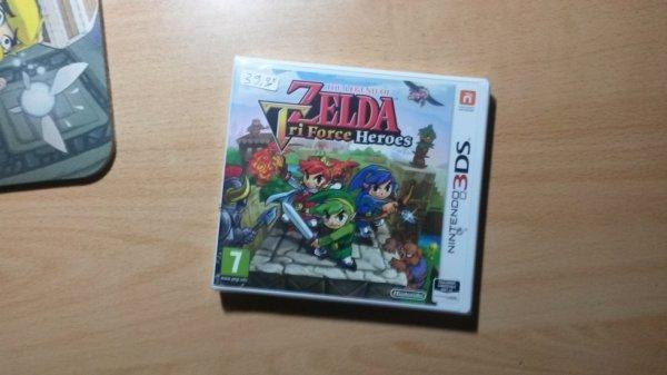 Hi hi Z'ai Zelda Triforce Heroes avant sa sortie :3 !
