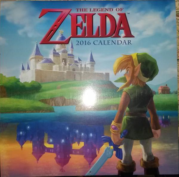 Calendrier Zelda 2016 (couverture)