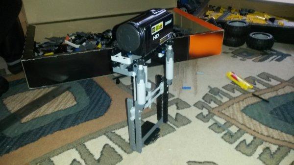 Trépied en Lego pour ma cam :)