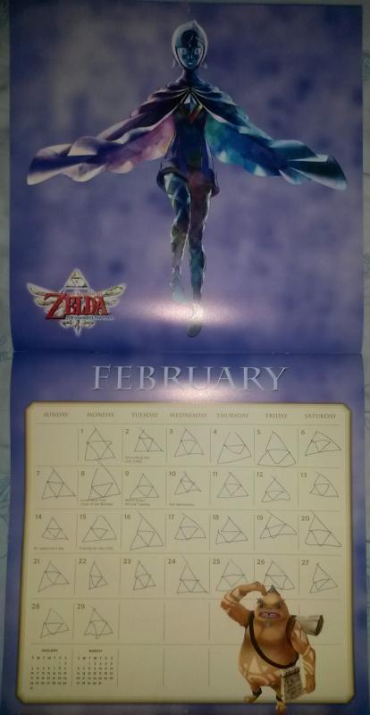 Calendrier Zelda 2016 (Février)