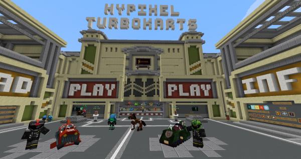Ooh yeaa ! Turbo Kart, sans mod sur Hypixel !