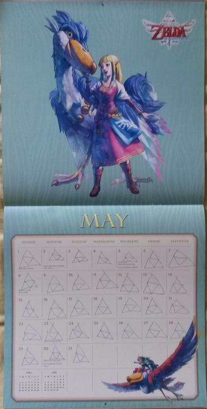 Calendrier Zelda 2016 (Mai)